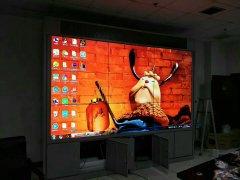 某单位监控中心55寸液晶彩立方平台官网屏项目