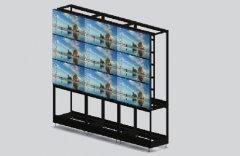 彩立方平台官网屏落地组装型彩立方平台官网支架(无封板)