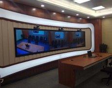 多屏视频会议系统调试完毕
