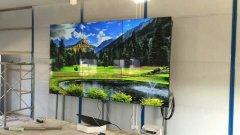 隧道集团会议室3x3LG49寸液晶彩立方平台官网