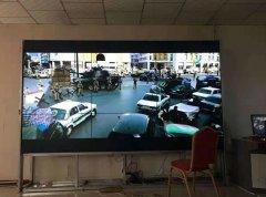 巫山隧道会议室液晶彩立方平台官网屏项目