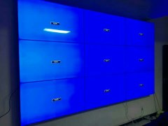 某企业展厅液晶彩立方平台官网屏项目